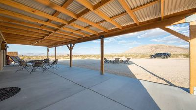 Super large Covered Patio