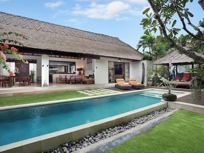 Photo for Deluxe 2 Bedroom Villa2 Near Seminyak Beach & Kudeta;