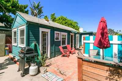 Your own cottage oasis just 50 yards from the sand!