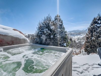 Photo for 360° Mountain View | Garden of the Gods | Hot Tub