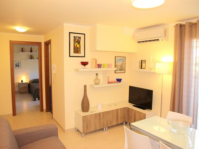 Photo for Cozy, comfortable and well furnished. Apartment in Taormina sea