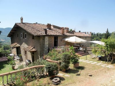 Photo for Apartment Villa Fabbroni (SPC170) in San Polo in Chianti - 10 persons, 5 bedrooms