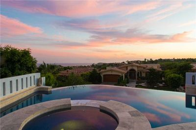Leave your heart at Villa del Coarazon, the beautiful view from the pool!