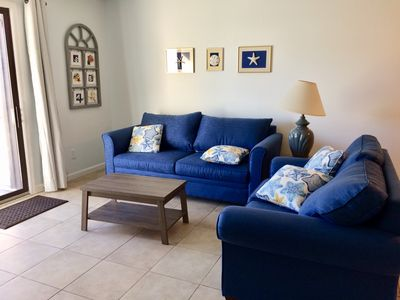 Photo for 2 Blocks to Beach, New Owner, New Linens,towels, and bedding!