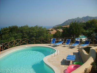 Photo for Beautiful modern 2 bed villa, private pool, sea views, small garden, near beach