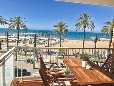 Photo for SITGES SEAFRONT (Tacó) - Enjoy facing the sea in the center of Sitges.