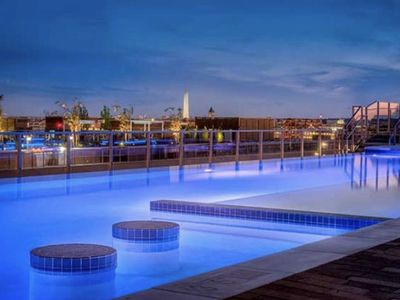 Photo for Luxury Stay in DC with Rooftop Pool!