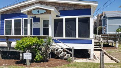 Photo for 50 Feet from the Ocean on a Beach Access - 4Ever in Blue Dreams!