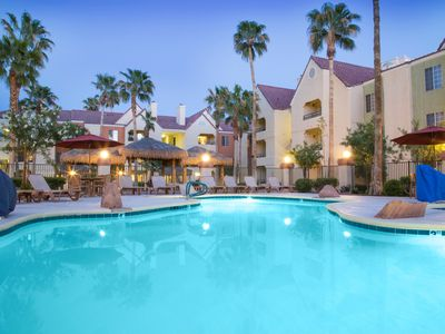 Photo for Cozy Villa in an Awesome Location with Pool Access + FREE Vegas Strip Shuttle