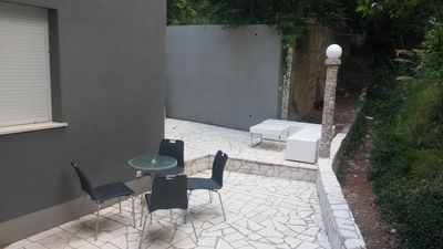 Photo for One bedroom apartment with terrace Krilo Jesenice (Omiš)