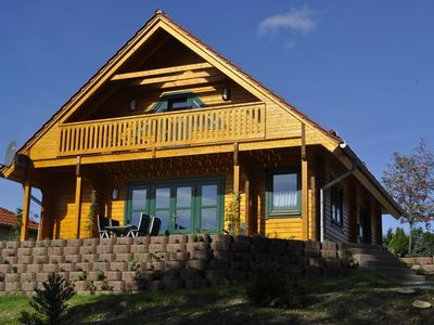 Photo for Log cabin in the Norwegian style on the southern slope