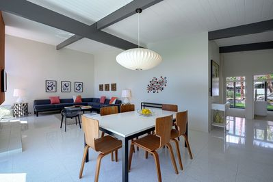 Classic mid-century details throughout