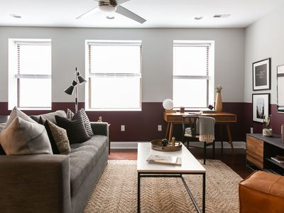 Photo for Domio | Old City | Stylish 2BR Apt near the Liberty Bell