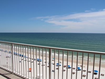 Photo for #106 -' Beauty and the Beach'- Gulf Front 4th floor/2BD 2BA/Large Balcony