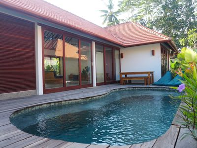 Photo for Tropical stylish villa with private pool in Kuta Lombok