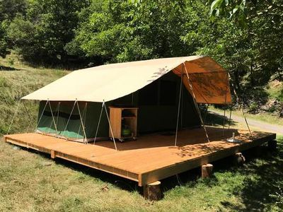 Photo for Camping Huttopia Lake Carcans ** - Family Tent 3 rooms 4 persons