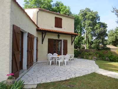 Photo for in Domaine des Fées at 50m from the beach of Nauzan