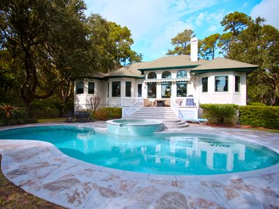 Photo for Luxurious 4BR/4BA Waterfront on the 11 mile lagoon in Palmetto Dunes!