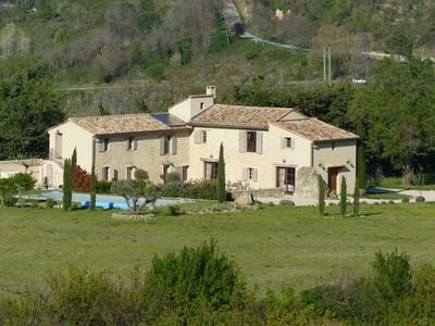"""Photo for Charming bed and breakfast at the foot of Mont Ventoux, room """"Victorine"""""""