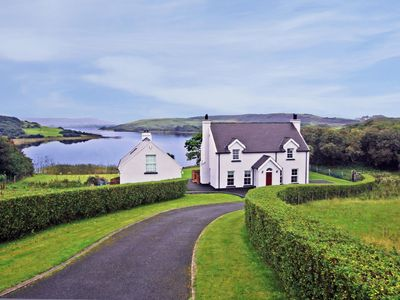 Photo for Fine detached house in exceptional location on the banks of Kindrum Lough and enjoying far rea…