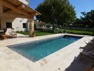 Photo for Stylish holiday villa in a quiet location on the edge of the village Mouries