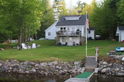 View of cottage from dock