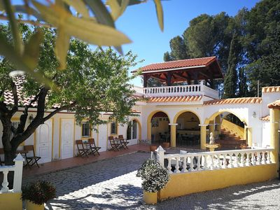 Photo for Finca Bilou has five double rooms, a swimming pool & large terraces