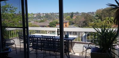 Photo for Quiet 4 bedroom top floor apt near Manly