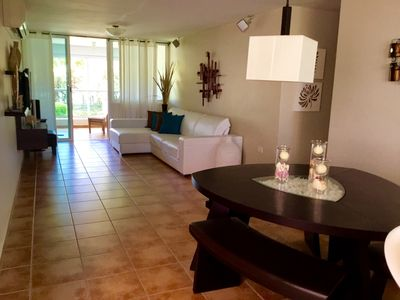 Photo for Beachfront 3BR 2BA Condo 15 Meters From A Beautiful Beach In Puerto Rico