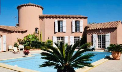 Photo for Magnificent Catalan Villa with private heated pool 10 minutes from the beach