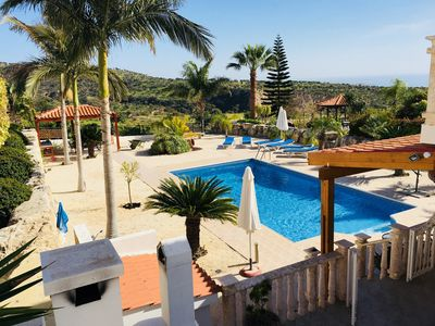Beautiful Sea And Valley Views - Private Pool 10m X 5m - Wifi/Aircon/BBQ/Terrace