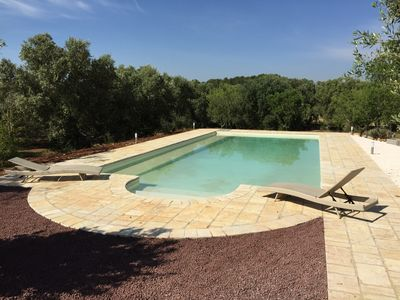 Photo for Trullo Shulamit - Intimate with a Pool