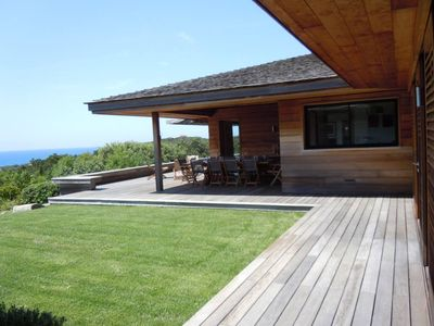 Photo for Pianottoli Caldarello: Architect villa with sea view pool 180 South Corsica