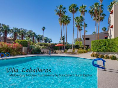 Photo for Kaptur Hideaway: 2  BR, 2  BA Condominium in Palm Springs, Sleeps 4