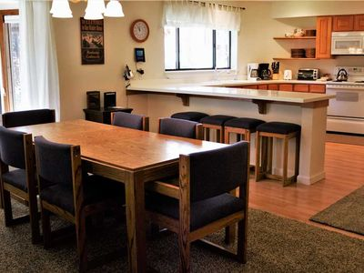 Photo for Incredible 2 Bed, 2 Bath Condo Easy Walking distance from the Ski Area and Town
