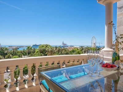 Photo for Veletta - holiday penthouse in Malaga
