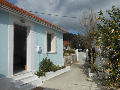 Photo for Guest cottage with courtyard in traditional village