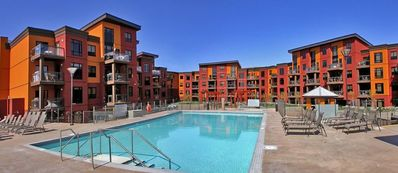 Photo for Playa Del Sol two bedroom with den, walks out to courtyard On 3rd floor