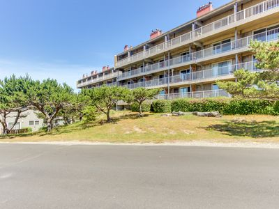 Photo for Play golf, then relax at the shared pool and hot tub at this ocean view condo!