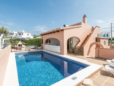 Photo for Villa Mares: Large Private Pool, Walk to Beach, WiFi, Car Not Required