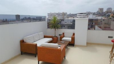 Photo for Holiday apartment Las Palmas de Gran Canaria for 1 - 4 persons with 3 bedrooms - Penthouse holiday a