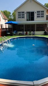 Photo for Spacious 3 Oaks Townhouse with pool