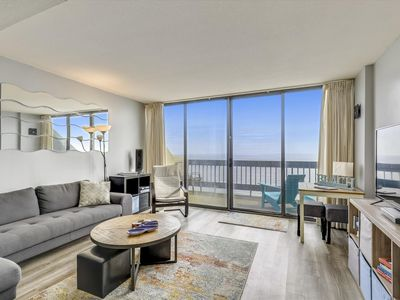 Photo for Century I 1922 - Direct Oceanfront with Indoor Pool & Sunrise/Sunset Views!
