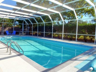 Photo for Charming Pool Home close to the Beaches - Huge Pool