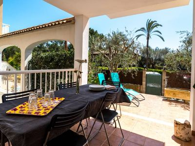 Photo for Can Picafort Ullastre, house with garden 800 meters from the beach in a quiet area