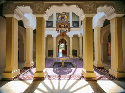 Photo for Marrakech house 10 people playground, swimming pool 20 m, hammam, wifi.