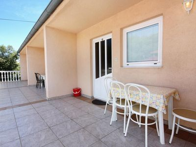 Photo for One bedroom apartment with terrace Jezera, Murter (A-5107-c)