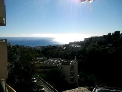 Photo for Nice //apartment with sea view terrace pool near beaches