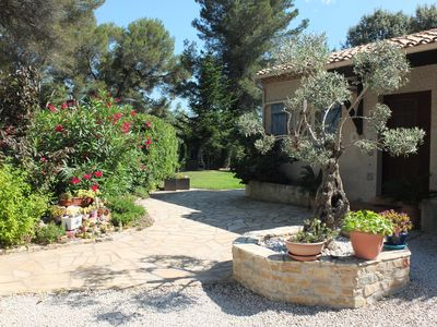Photo for Beautiful villa with pool near Montpellier 25 minutes from the beaches