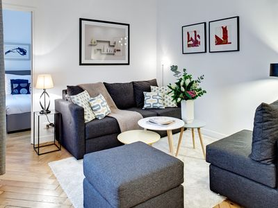 Photo for Comfortable 3 Bedrooms 2 Bathrooms family rental in the heart of Paris